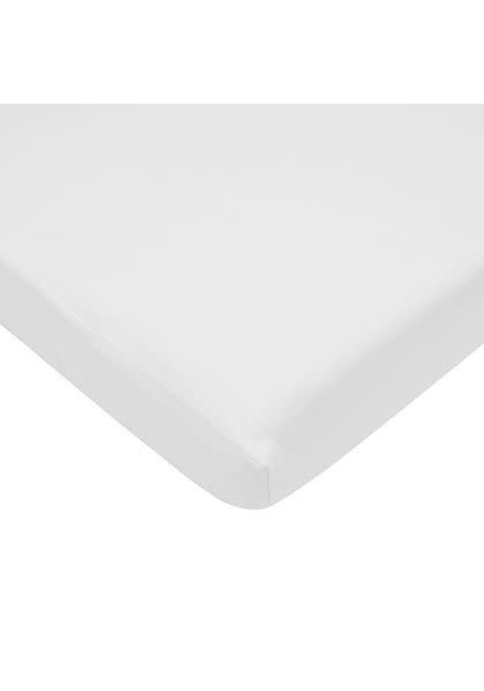 American Baby Knit Bassinet Sheet In White