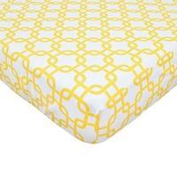 American Baby Percale Crib Sheet Golden Gotcha