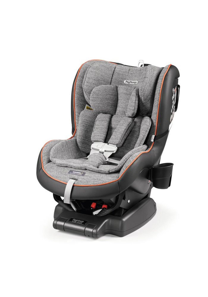 Peg Perego Primo Convertible Kinetic Carseat In Wonder Grey