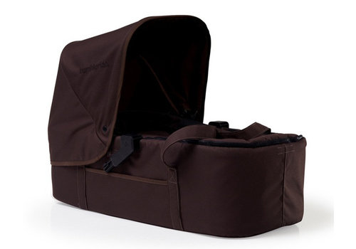 Bumbleride CLOSEOUT!! Bumbleride Indie Twin (Double Stroller) Carrycot In Walnut