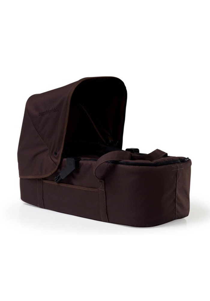 CLOSEOUT!! Bumbleride Indie Twin (Double Stroller) Carrycot In Walnut