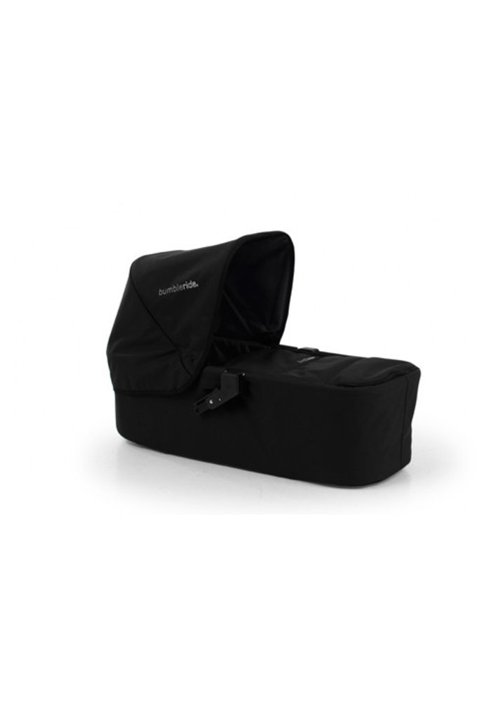 CLOSEOUT!! Bumbleride Indie (Single Stroller) Carrycot In Jet Black