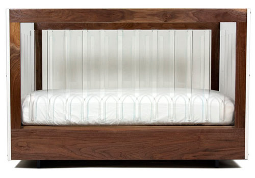 Spot On Square Spot On Square Roh Crib-White-Walnut - 2 Sides Acrylic