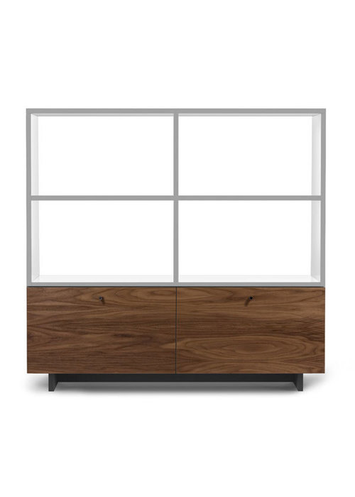 Spot On Square Spot On Square Roh Bookshelf - White-Walnut