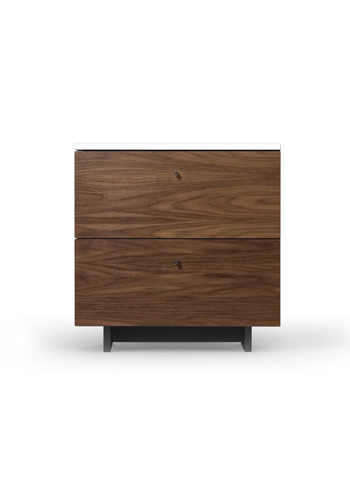 Spot On Square Spot On Square Roh Nightstand - White-Walnut