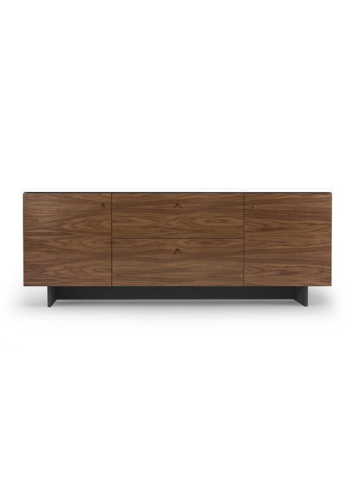 Spot On Square Spot On Square Roh Credenza - White-Walnut