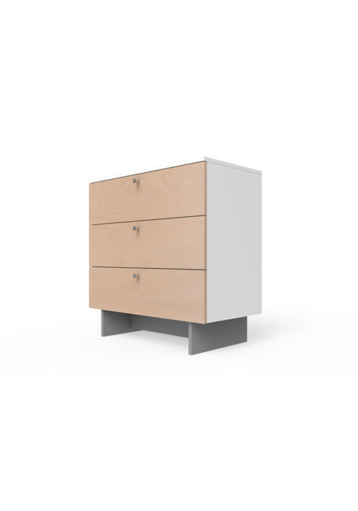 Spot On Square Roh Dresser 34'' Wide - White-Birch
