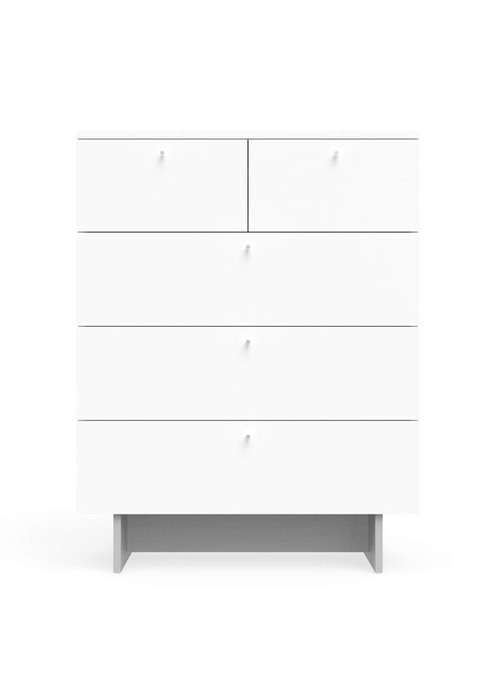 Spot On Square Spot On Square Roh 5 Drawer Dresser - White