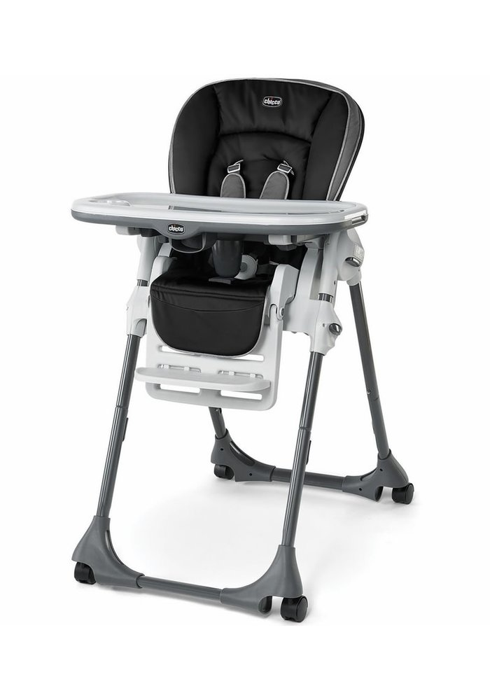 Chicco Polly Vinyl Highchair In Orion