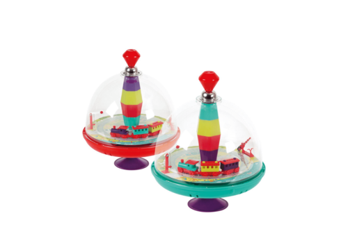 Janod Janod Musical Train Spinning Top