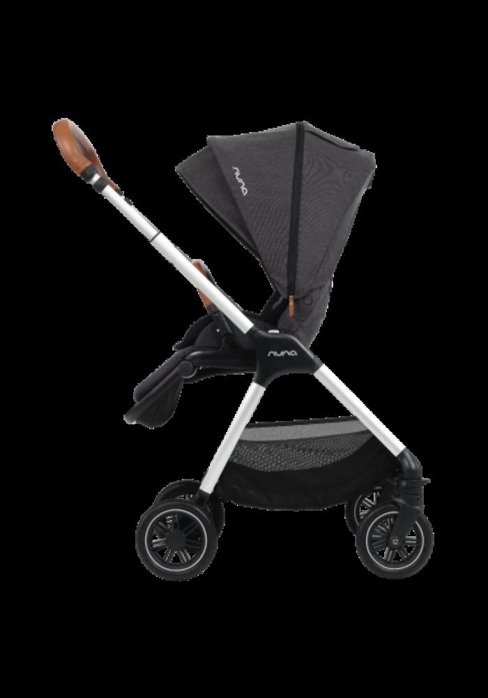 Nuna Triv Compact Stroller In Caviar