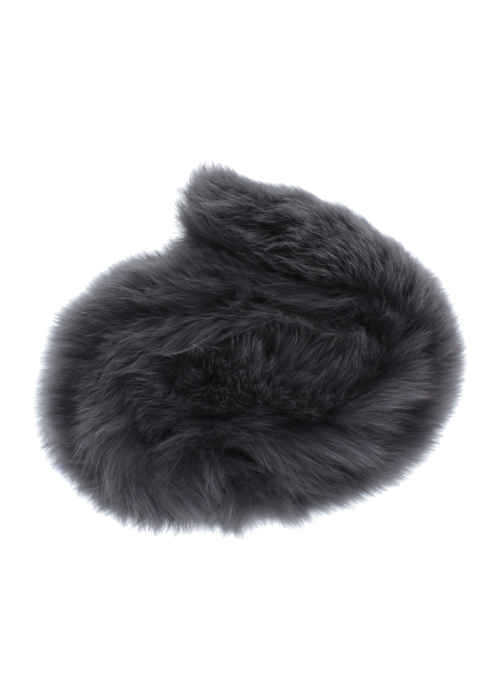 Baby Frr Baby Frr Fur For Stroller In Dark Grey