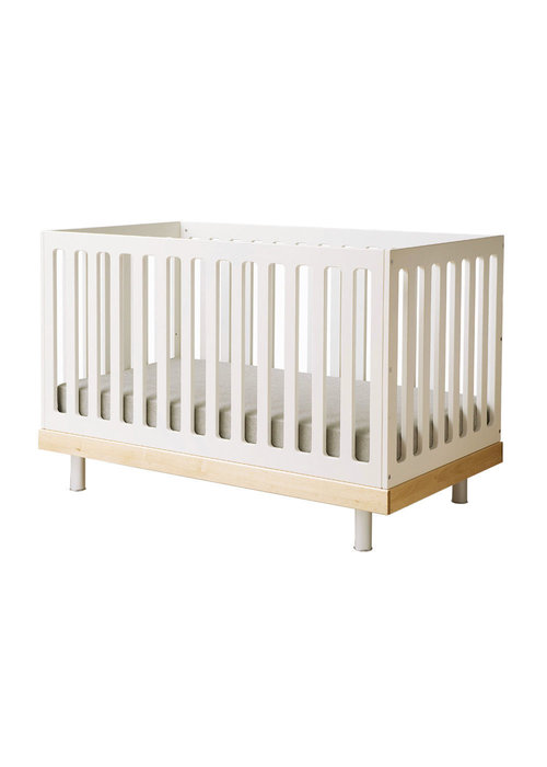 Oeuf Oeuf Classic Crib In White/Birch