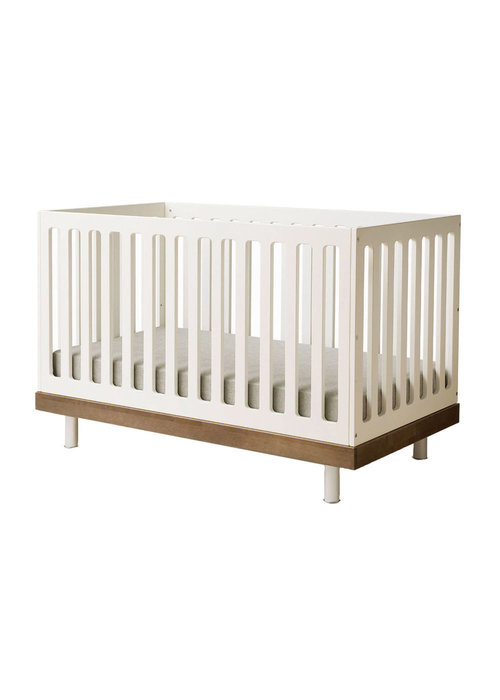 Oeuf Oeuf Classic Crib In White/Walnut