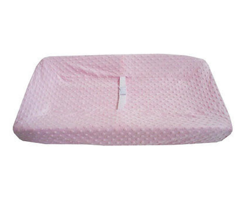 American Baby HS Minky Dot Pink Changing Pad Cover