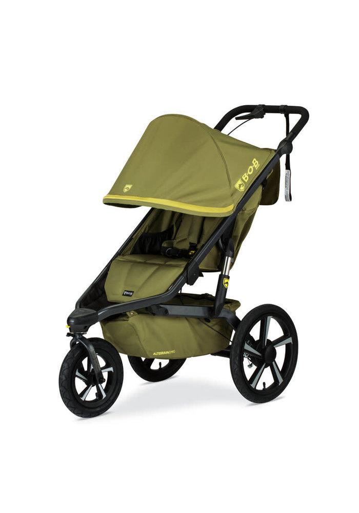 2020 BOB Alterrain Pro Single Jogging Stroller -Olive