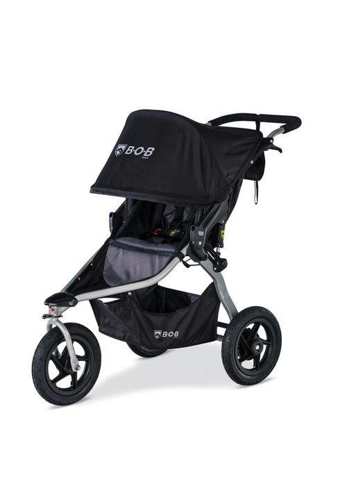 BOB 2020 Bob Rambler Single Jogging Stroller - Black