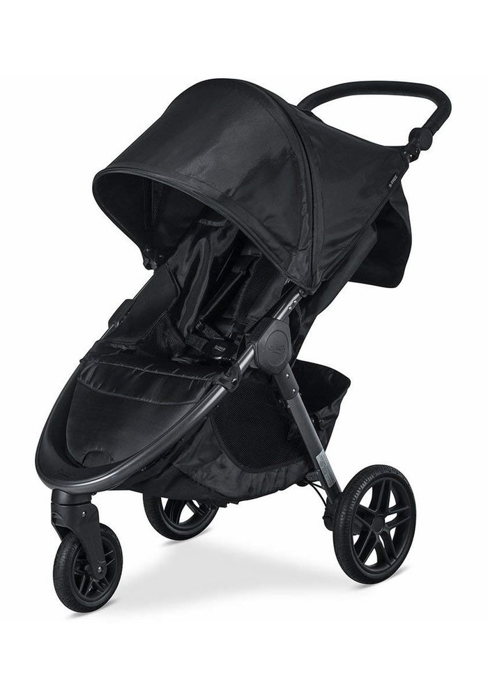 Britax B-Free Stroller In Cool Flow Grey