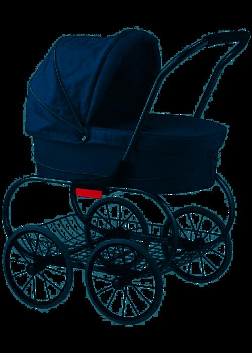 Valco Baby Valco Baby Denim Doll Stroller