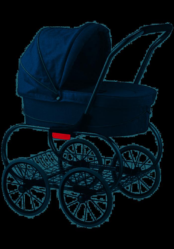 Valco Baby Denim Doll Stroller