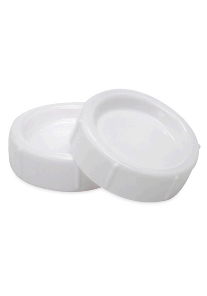 CLOSEOUT!! Dr. Browns Wide Neck Replacement Storage/Travel Caps (2 In A Pack)