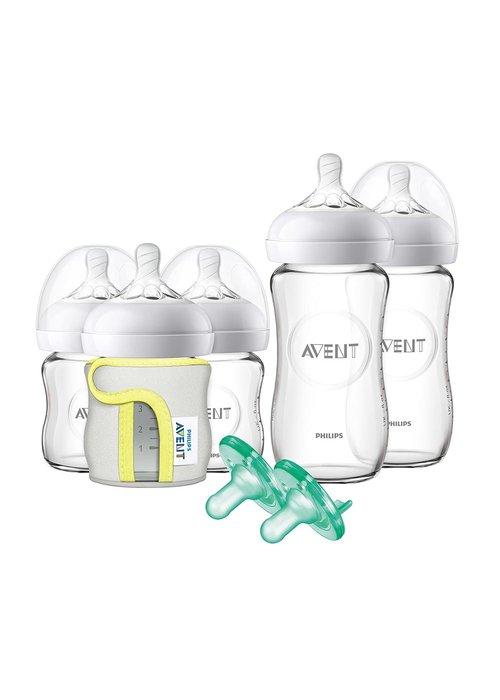 Avent Philips Avent Natural Infant Starter Set Glass Bottles