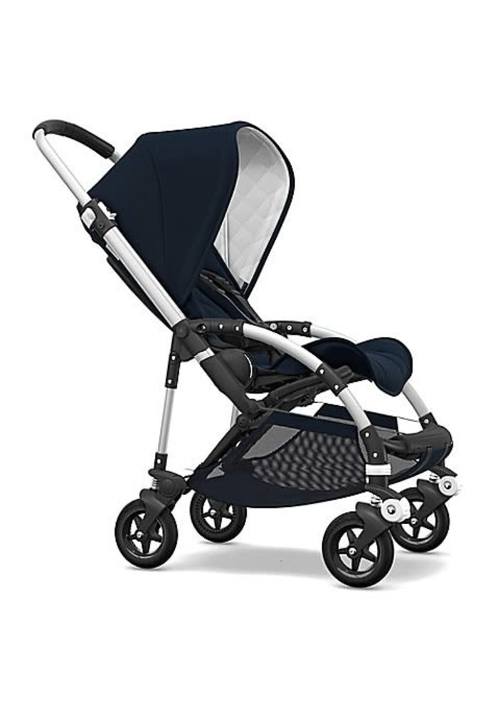 Bugaboo Bee5 Classic  (Quilted) Complete Aluminum/Dark Navy