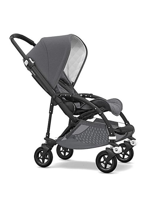 Bugaboo Bugaboo Bee5 Classic (Quilted)  Complete Black/Grey Melange