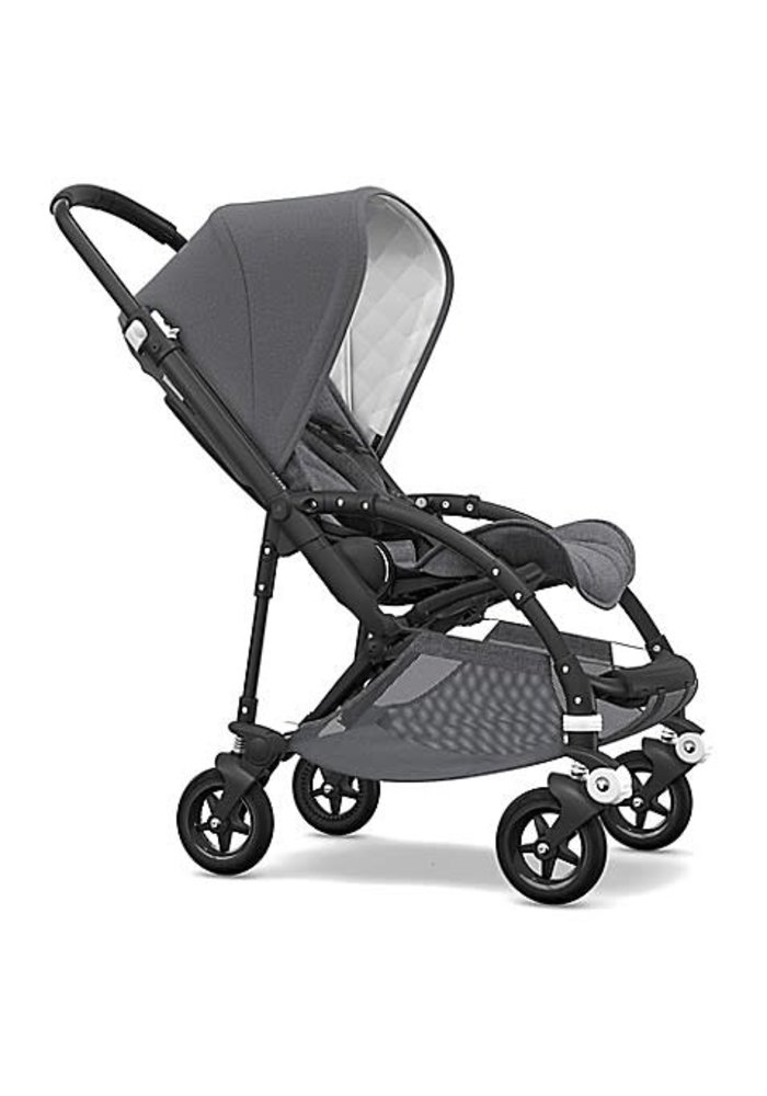 Bugaboo Bee5 Classic (Quilted)  Complete Black/Grey Melange