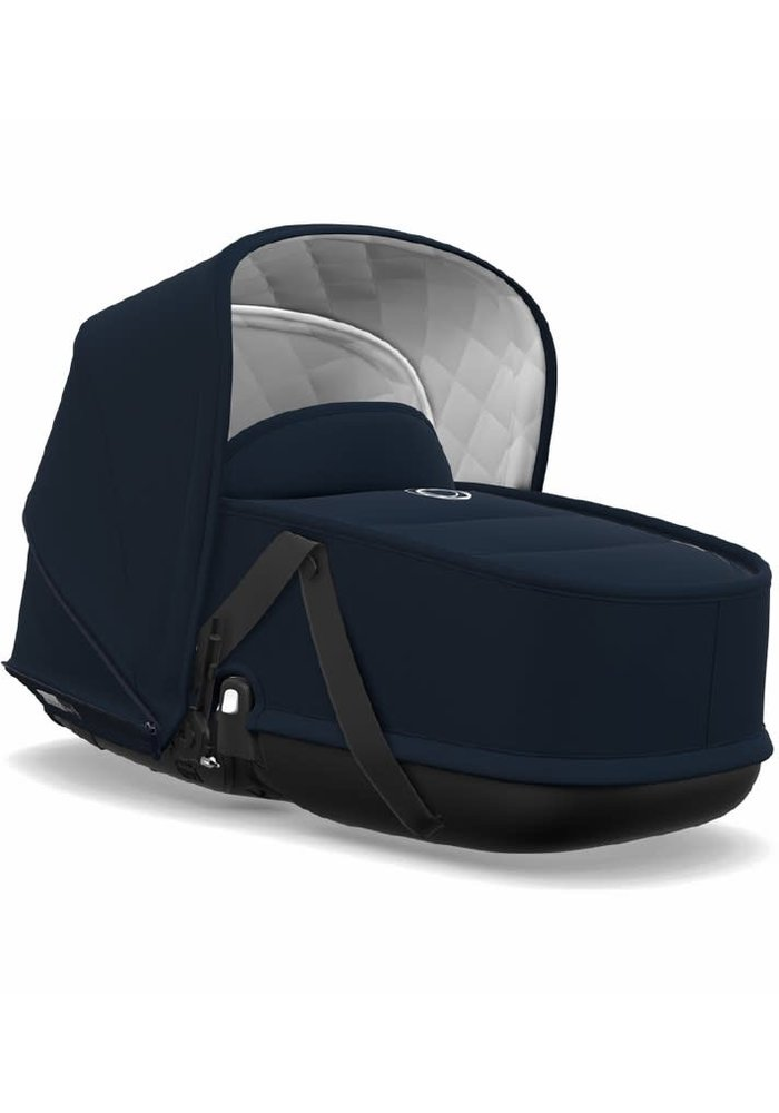 Bugaboo Bee5 Classic  (Quilted) bassinet Tailored Fabric Sets In Dark Navy