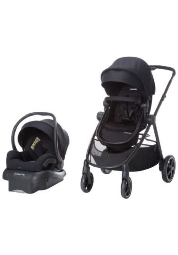 Maxi Cosi Zelia Travel System with Mico 30 (Night Black)