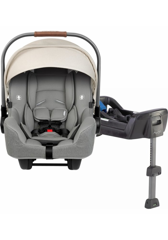 2020 Nuna Pipa Infant Car Seat In Birch With Base