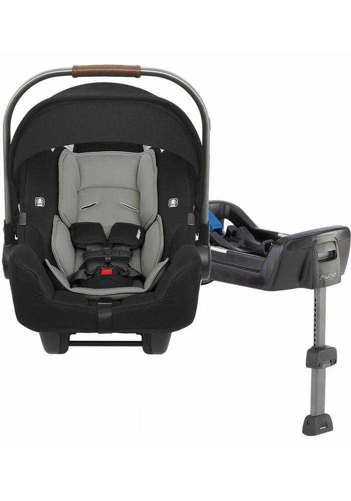 2020 Nuna Pipa Infant Car Seat In Caviar With Base