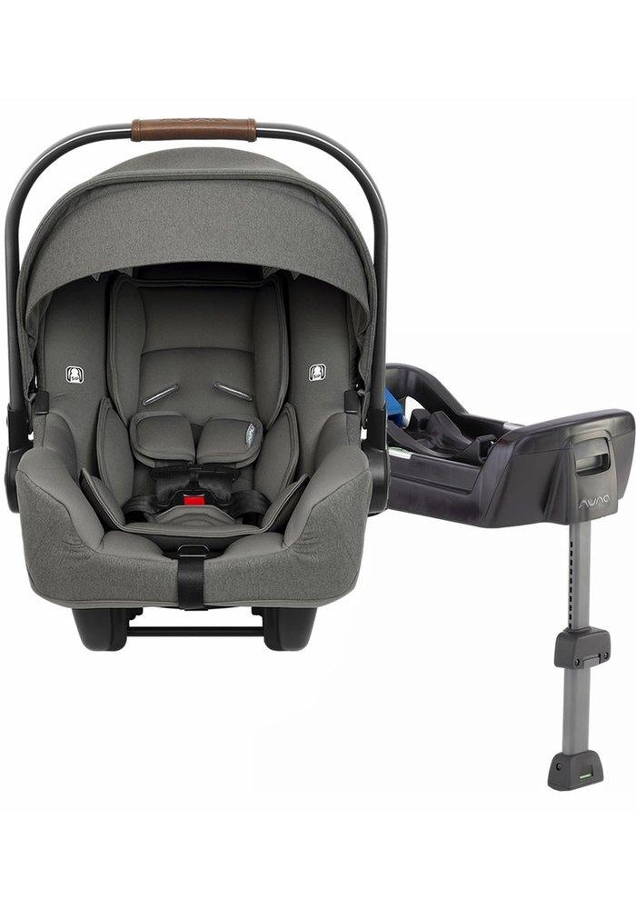 2020 Nuna Pipa Infant Car Seat In Granite With Base