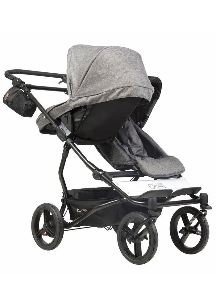 2020 Mountain Buggy Duet Luxury Stroller - Herringbone