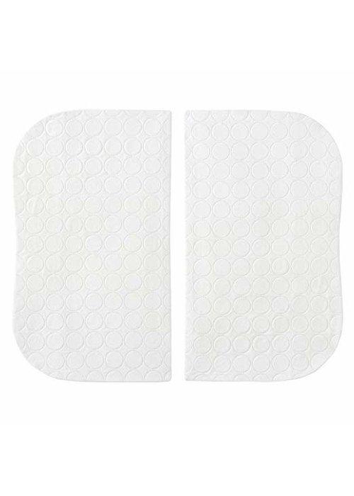 Halo Halo Bassinet Twin Waterproof Mattress Pad - 2 Pack