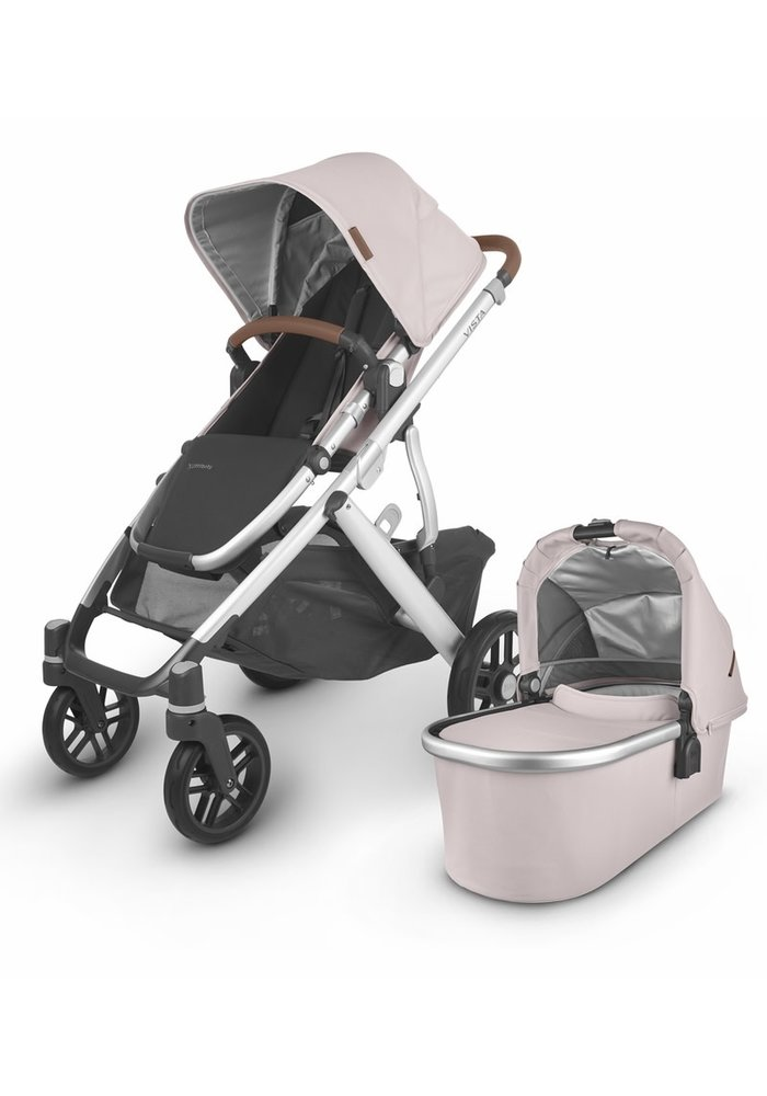 2020 Uppa Baby Vista V2 Stroller In Alice (dusty pink/silver/saddle leather)