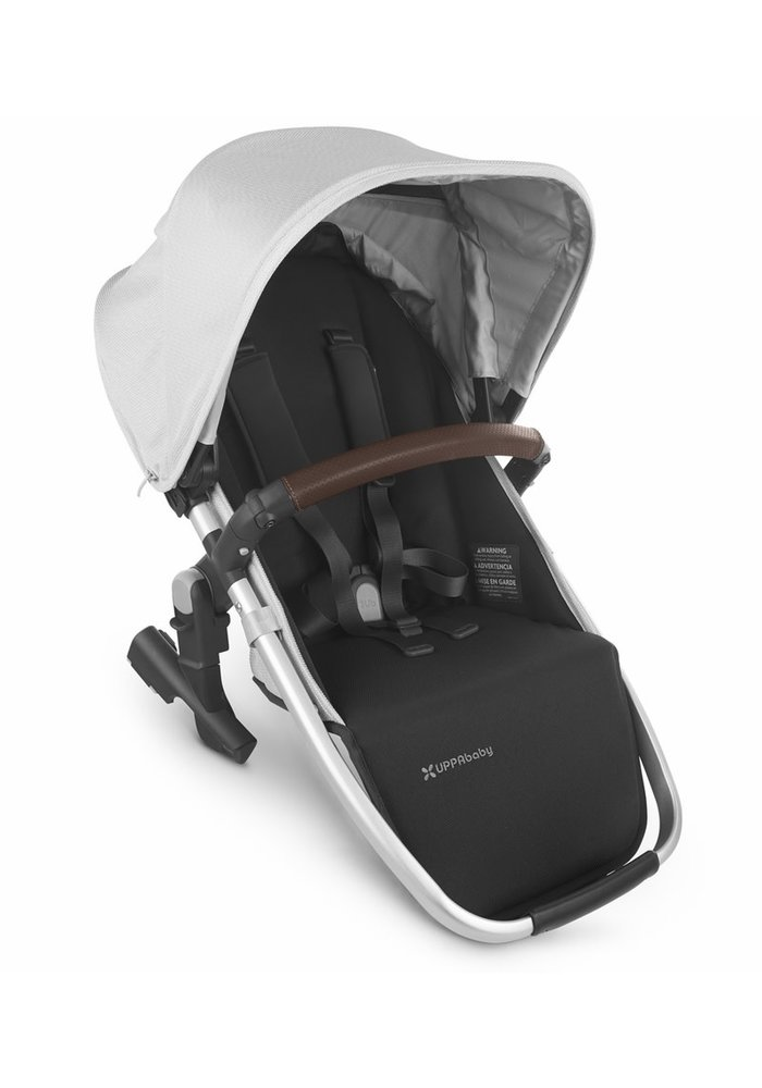 2020 Uppa Baby Vista Rumble Seat V2 (Only) In BRYCE (white marl/silver/chestnut leather)