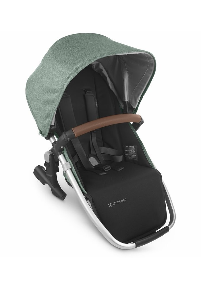 2020 Uppa Baby Vista Rumble Seat V2 (Only) In EMMETT (green mélange/silver/saddle leather)