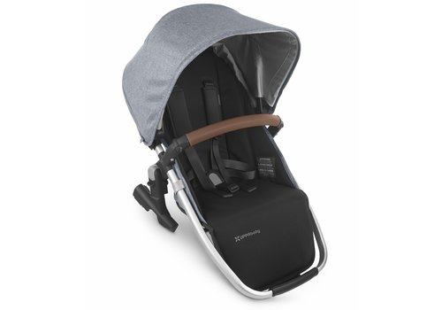 UppaBaby 2020 Uppa Baby Vista Rumble Seat V2 (Only) In GREGORY (blue mélange/silver/saddle leather)