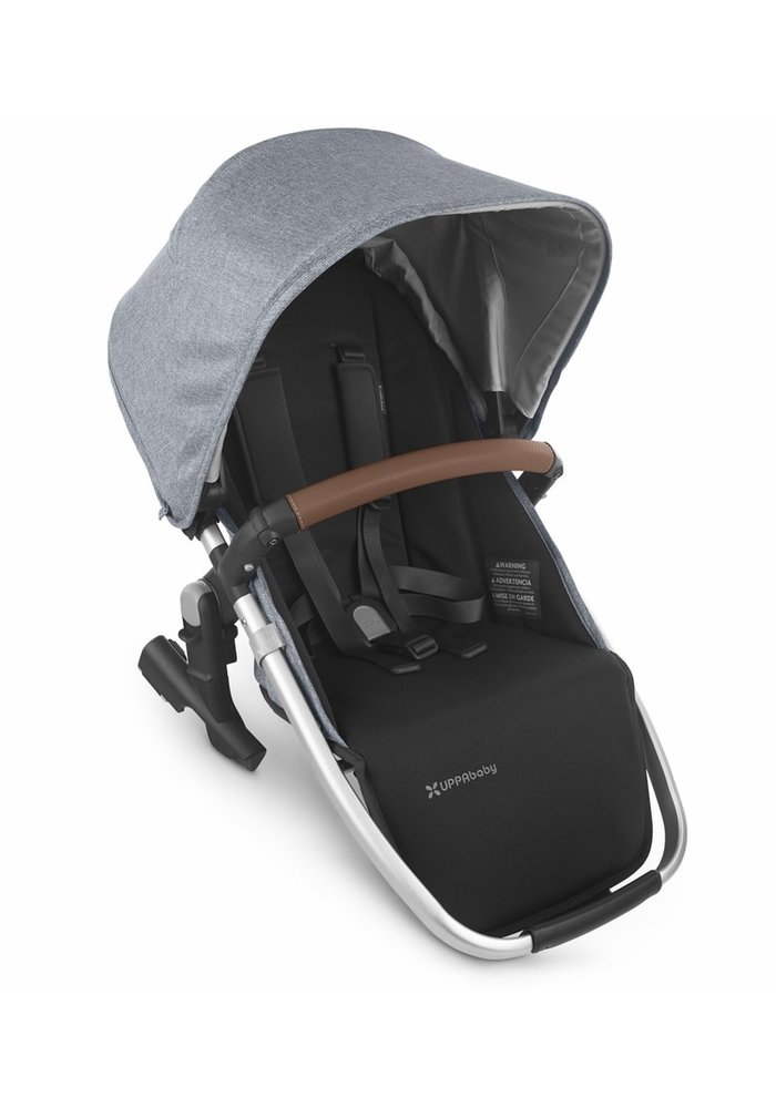 2020 Uppa Baby Vista Rumble Seat V2 (Only) In GREGORY (blue mélange/silver/saddle leather)