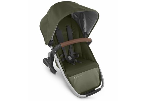 UppaBaby 2020 Uppa Baby Vista Rumble Seat V2 (Only) In HAZEL (olive/silver/saddle leather)