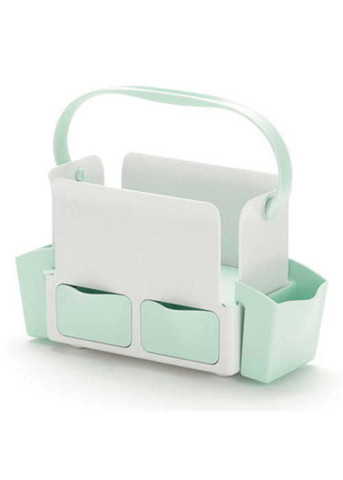 Skip Hop CLOSEOUT!! Skip Hop Toolbox Diaper Caddy In White