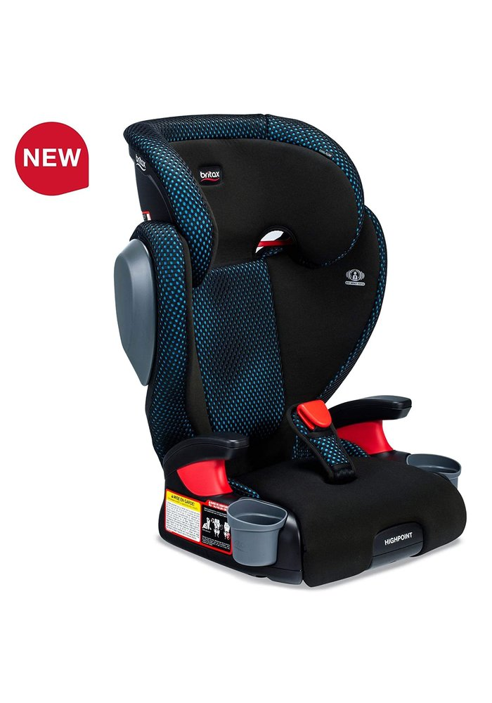 Britax Highpoint Booster Seat In Cool Flow Teal (2 Piece)