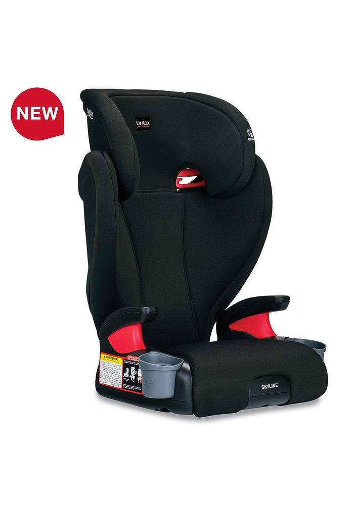 Britax Skyline Backless Booster Seat In Dusk (2 Piece)