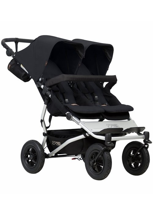 Mountain Buggy Mountain Buggy Duet Double In Black