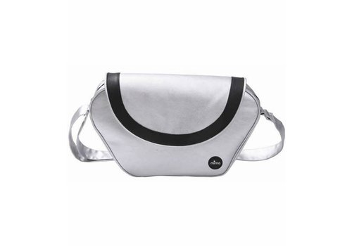 Mima Kids Mima Kids Trendy Changing Bag In Argento