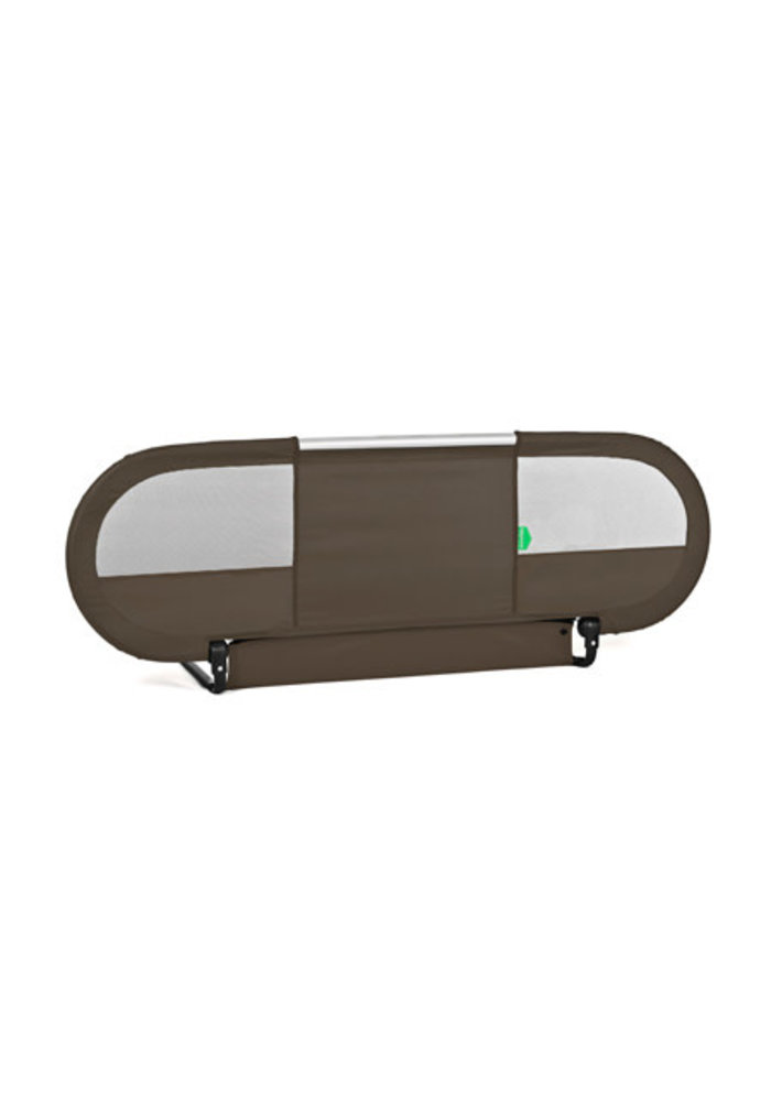 BabyHome Side Bed Rail In Brown