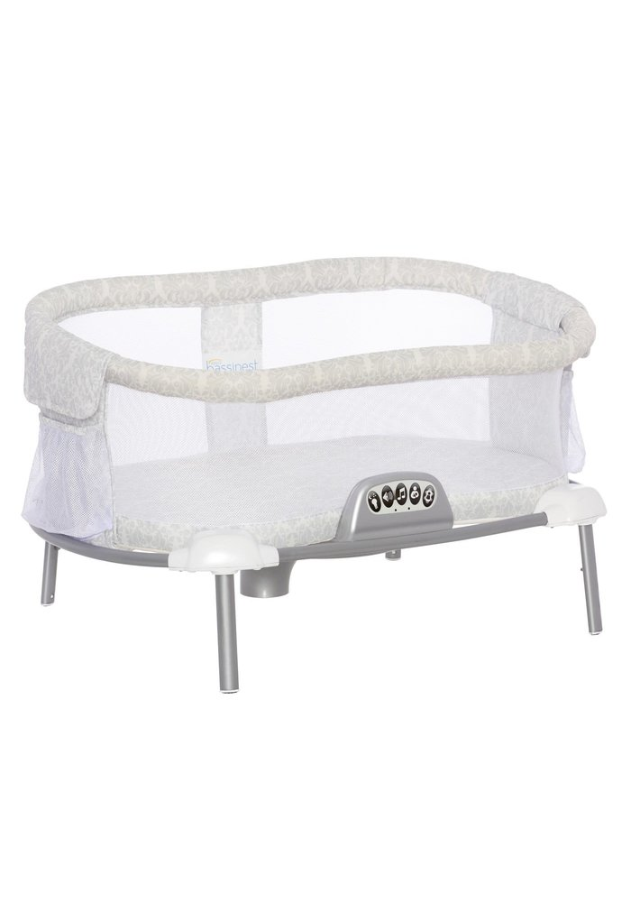 CLOSEOUT!! Halo Bassinet Portable Stand - Light Silver