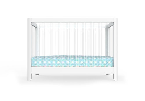 Spot On Square Spot On Square Reverie Lucite Acrylic Crib
